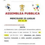 Assemblea pubblica 25 luglio