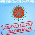 COMUNICAZIONE IMPORTANTE