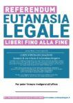 Locandina REFERENDUM EUTANASIA LEGALE