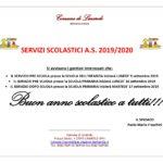 AVVISO SERVIZI SCOLASTICI A.S. 2019/2020