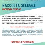 RACCOLTA SOLIDALE EMERGENZA COVID-19