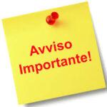 V.A.S. – AVVISO DI DEPOSITO RAPPORTO PRELIMINARE – DOCUMENTO DI SCOPING