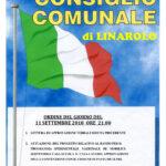 Convocazione Consiglio Comunale 11 settembre 2018